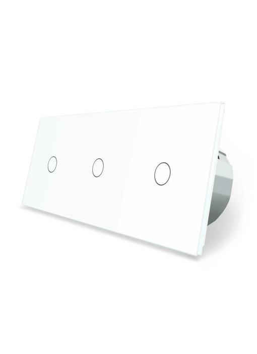Livolo Touch Dimmer | 3 x Enkelpolig