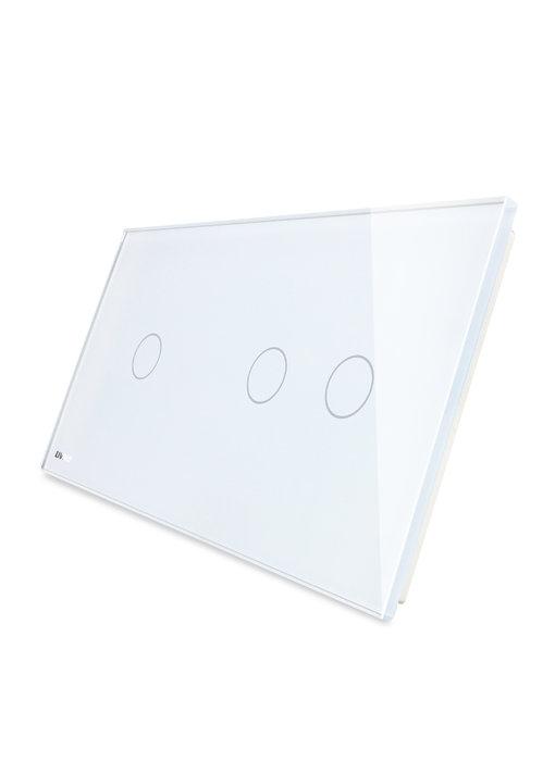 Livolo Glaspaneel | Enkelpolig + Serie