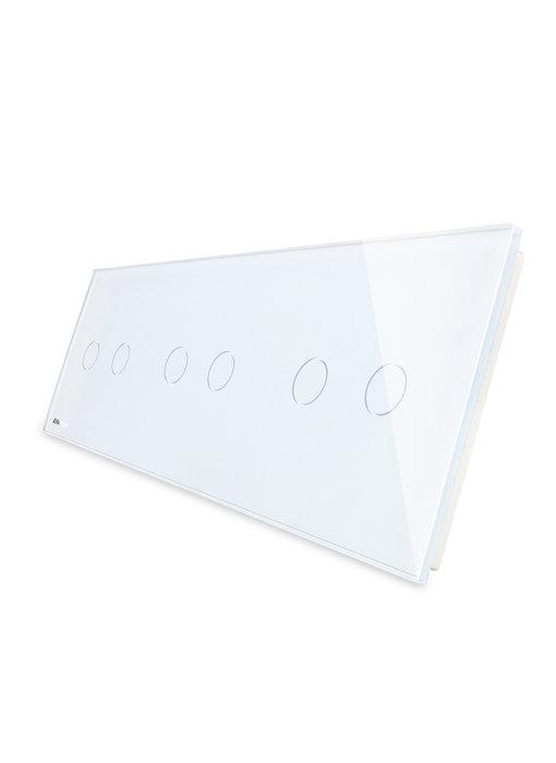 Livolo Glasplatte | 3 x 2-Polig