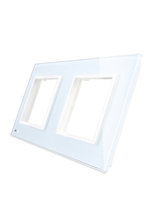 Livolo Glass Panel | Module/Socket + Module/Socket