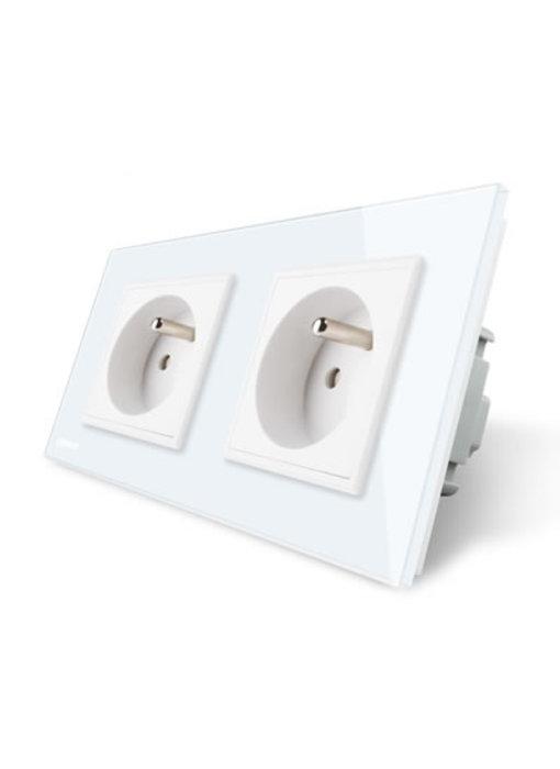 Livolo Socket | Dual | FR