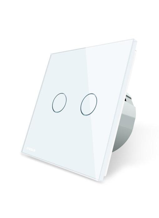 Livolo Touch-Schalter | Zweipolig + Wechsel