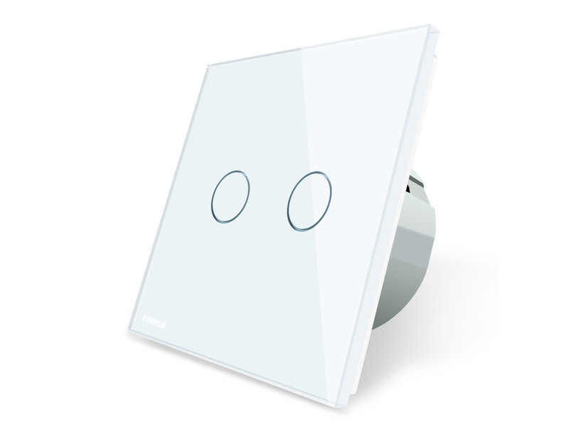 Livolo Design Touch Schakelaar | Serie + Wissel | 2-polig | 1 Raam