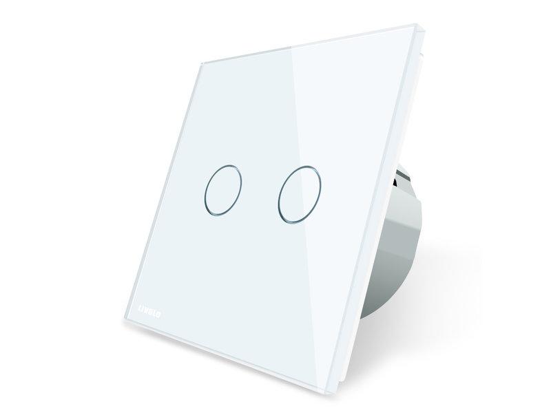 Livolo Design Touch-Schalter | Zweipolig + Wechsel | 2-polig | 1 Fach