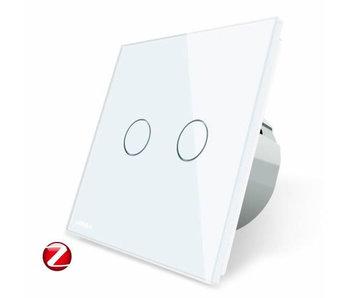 Livolo Touch Switch   2 Gang 1 Way   Zigbee