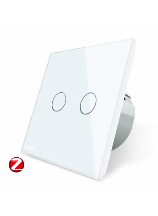 Livolo Touch Switch | 2 Gang 1 Way | Zigbee