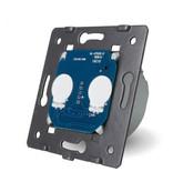 Livolo Design Touch Schakelaar Module | Serie | Geschikt voor Fibaro | 2-polig | 1 Raam