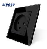 Livolo Design Wandsteckdose | Single | 1 Fach