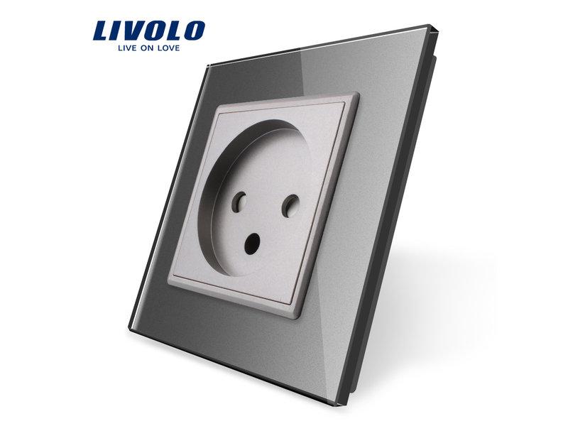 Livolo Design Wandcontactdoos | Enkelvoudig | 1 Raams