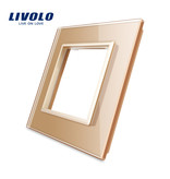 Livolo Design Glaspaneel | Module/Wandcontactdoos | 1 Raams