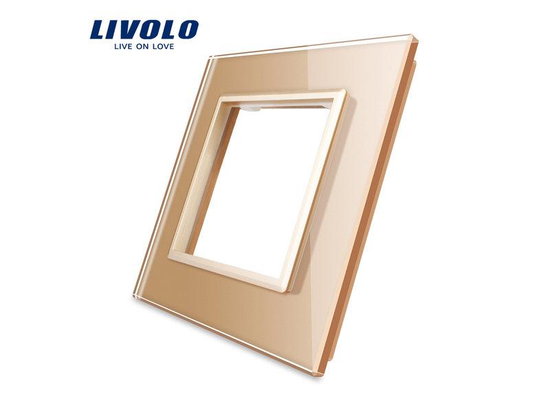 Livolo Design Glaspaneel | Module/Wandcontactdoos | 1 Raams
