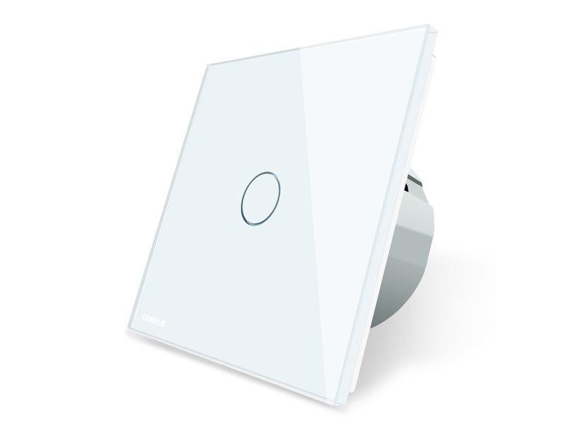 Livolo Design Touch Pulse Switch | 1-pole | 1 Gang | 1 Hole