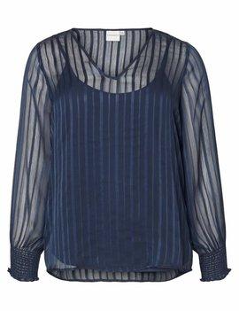 JUNAROSE Transparante blouse met ingewerkte top VJ19