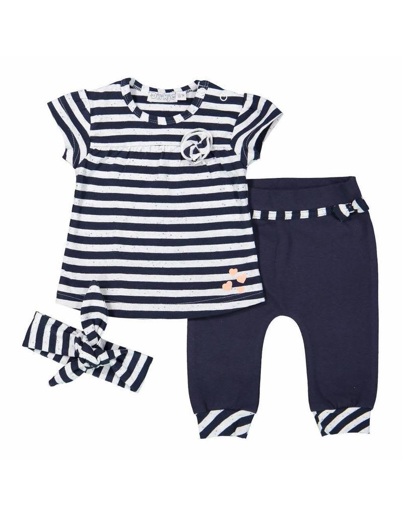 Dirkje 31A-30265 Babysuit+haarband