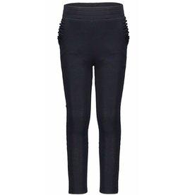 Flo F909-5601 Crepe Pants Ruffle