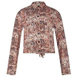 AI&KO Coba snake blouse