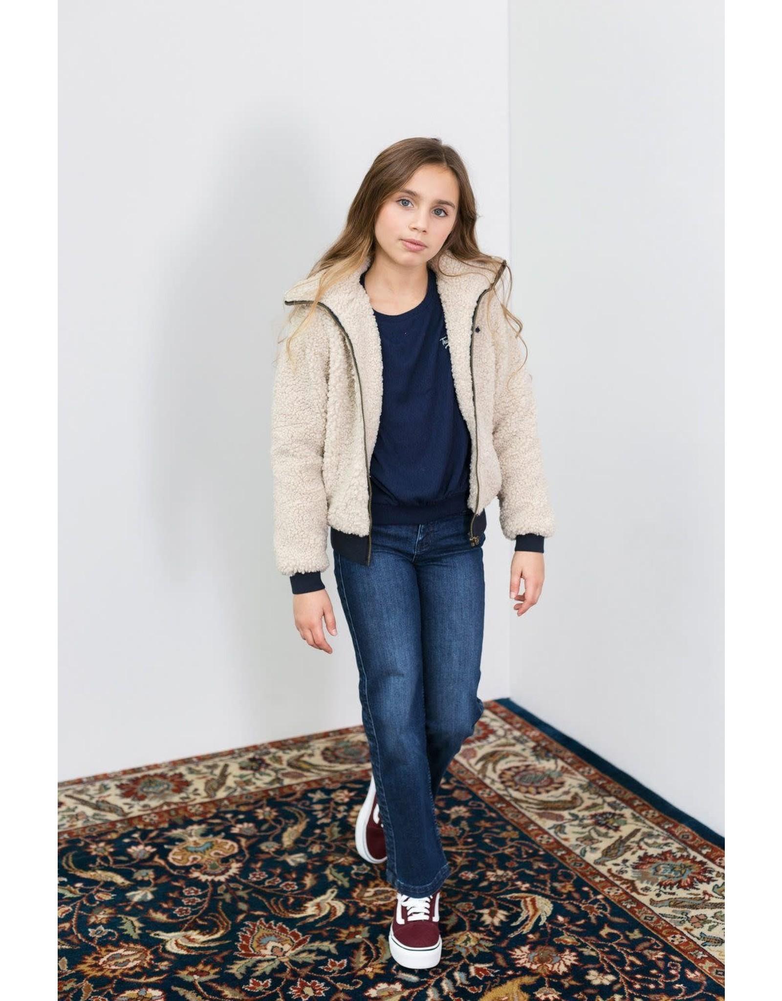 looxs 2031-5244  Bomber teddy jacket