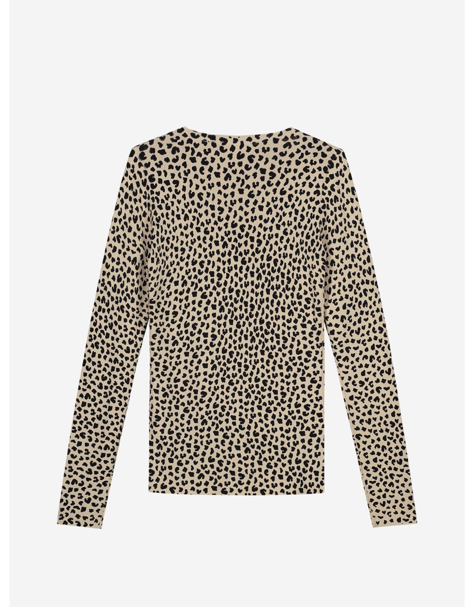 Nik & Nik Jolie leopard Top