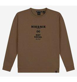 Nik & Nik Not Social sweater