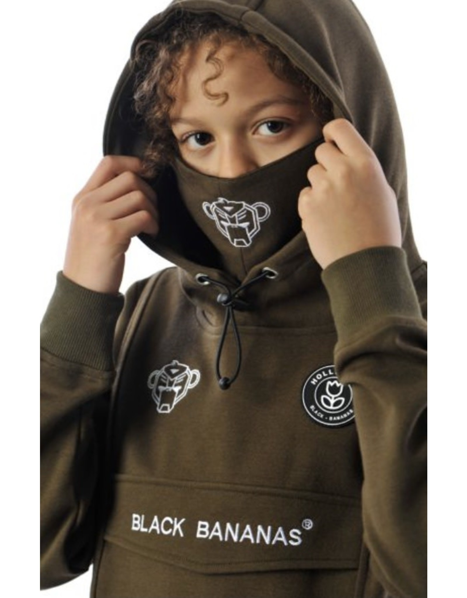 Black Bananas KFW20/007 Mask Hoody