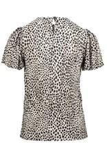 Geisha 13163 Top Plisee leopard