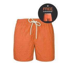 Muchachomalo Solid 2062 Swimshort + gratis boxershort