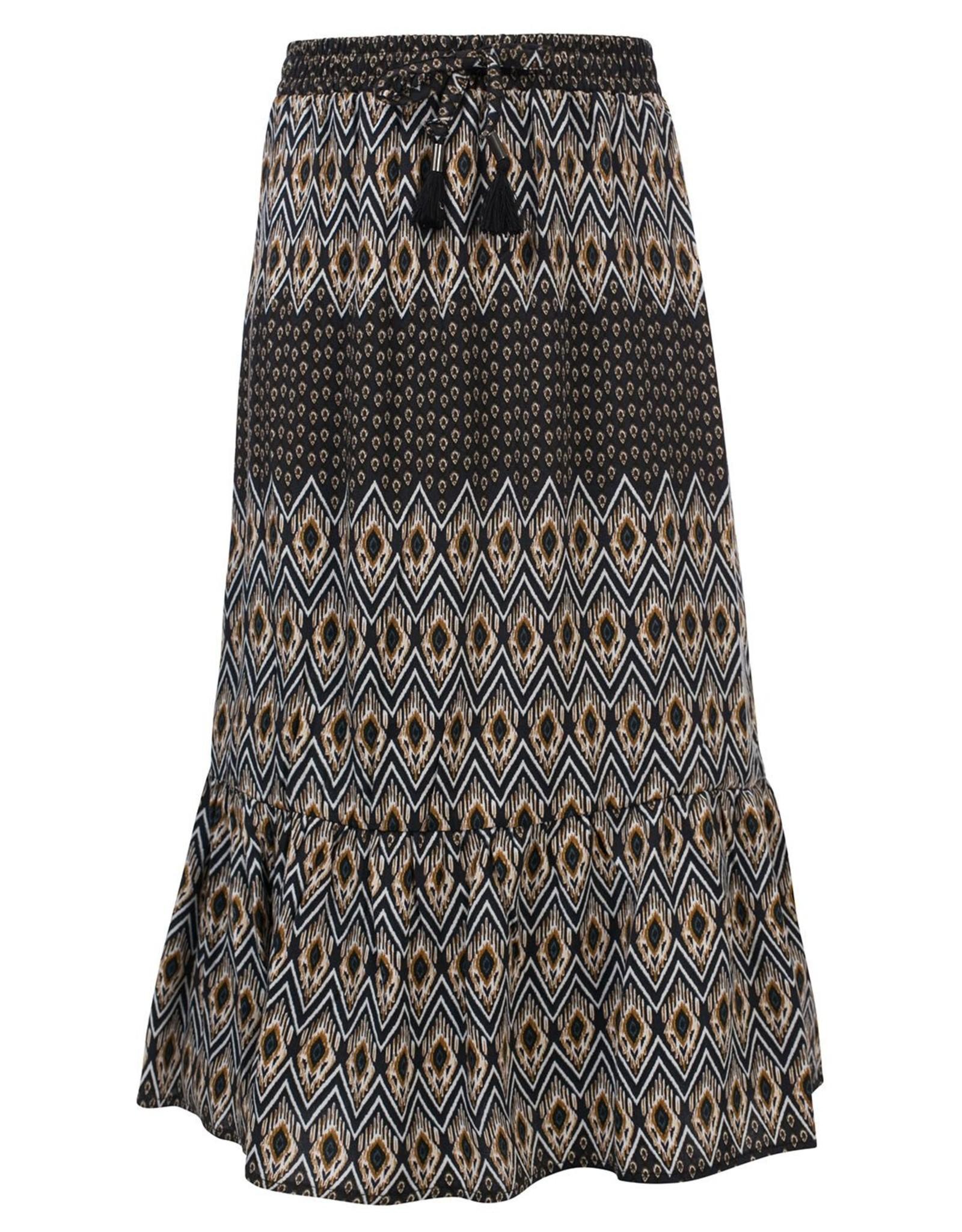 looxs 2131-5706  Printed Long Skirt
