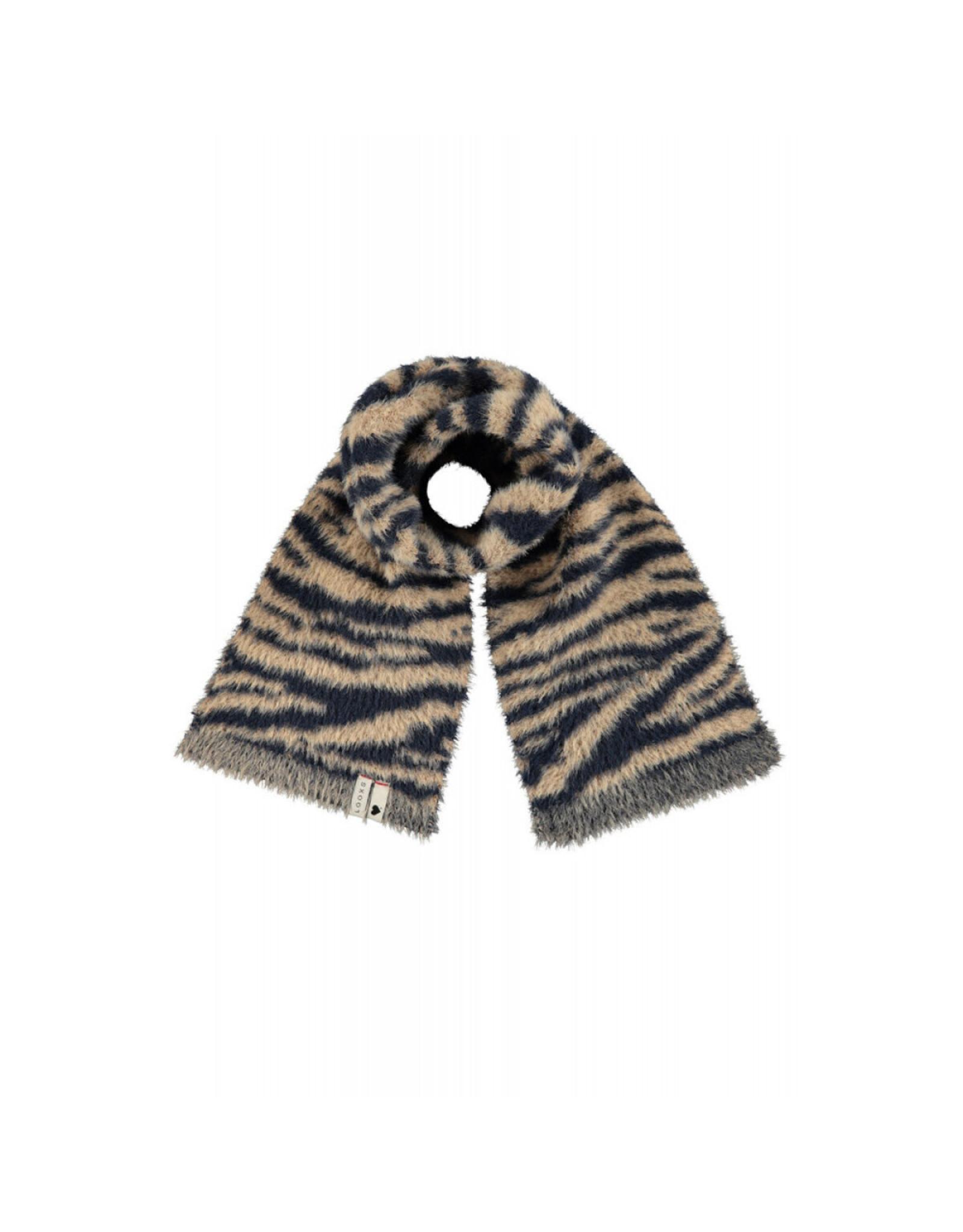 looxs 2131-7912 Scarf Knit Zebra