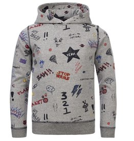 Common Heroes 2131-8307 Cas Printed Sweater