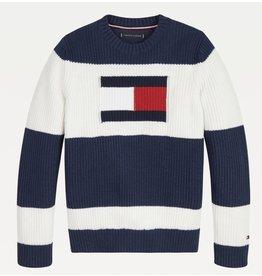 Tommy Hilfiger 6922 colorblock trui