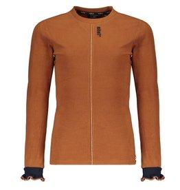 nobell Q109-3405 Keila Velours Rib T-Shirt