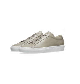 Common Projects ORIGINAL ACHILLES LOW WHITE SOLE TAUPE