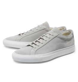 Common Projects ORIGINAL ACHILLES LOW WHITE SUEDE GREY