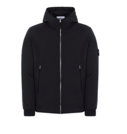Stone Island 40927 LIGHT SOFT SHELL-R BLACK