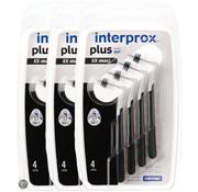 Interprox Interprox Plus XX Maxi 6mm-11mm Zwart - 3 x 4 stuks - Voordeelverpakking