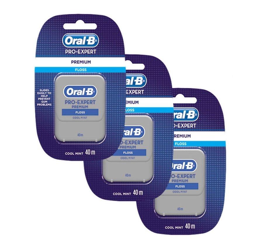 Oral-B Pro Expert Premium Floss - 3 Stuks - Voordeelverpakking