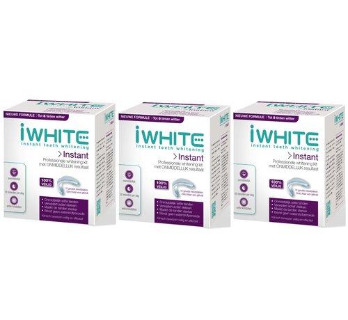 iWhite  Iwhite 2 Instant Whitening Kit - 3 Stuks - Voordeelverpakking