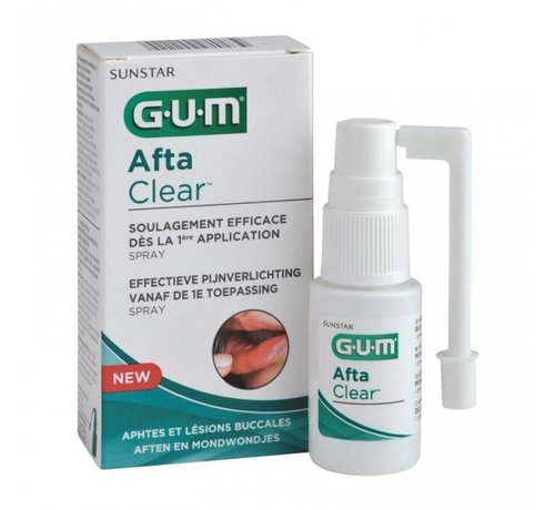 GUM Gum Aftaclear Spray