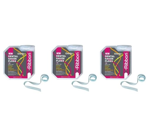 iDontix Idontix X-Ribbon 12Meter - 3 Stuks - Voordeelpakket