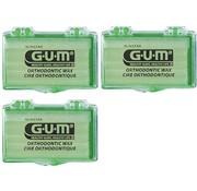 GUM Gum Orthodontic Wax - 3 Stuks - Voordeelverpakking