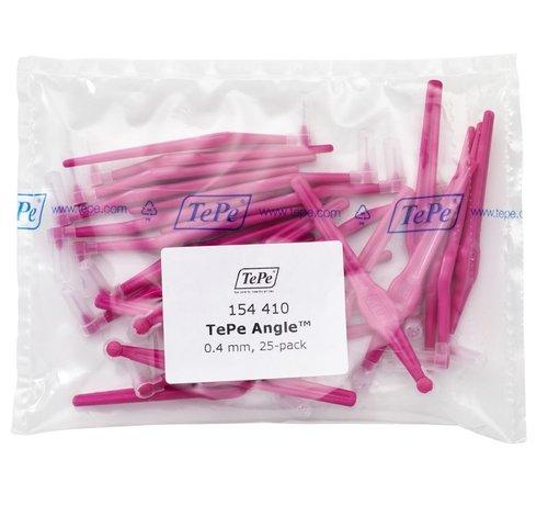 TePe Tepe Angle Roze 0.4mm - 3 x 25 stuks - Voordeelverpakking