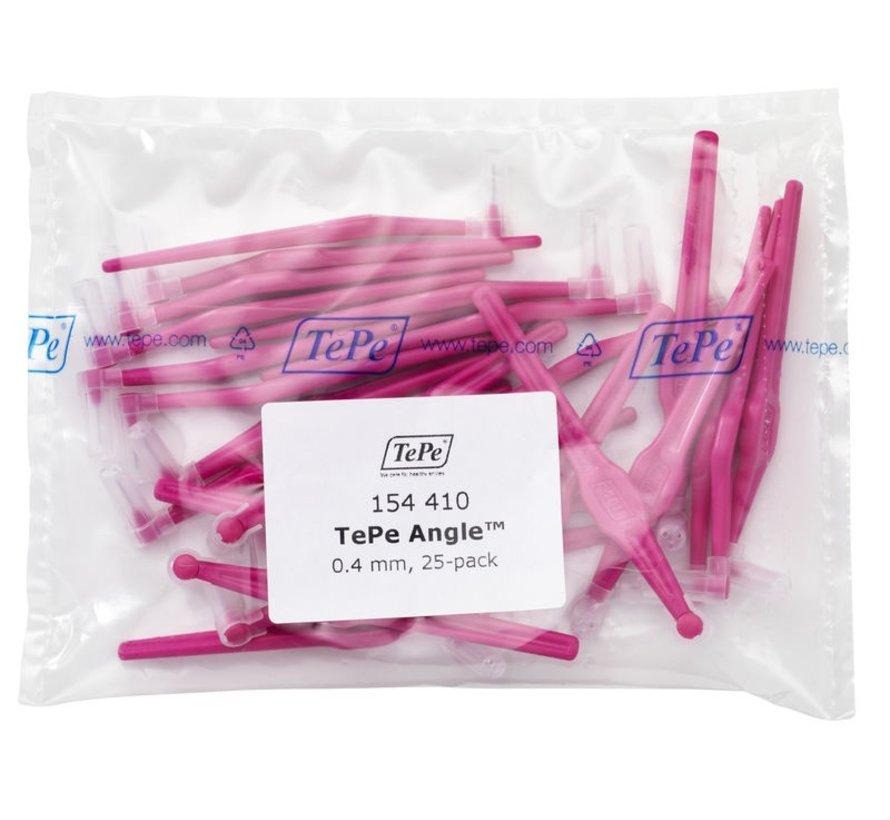 Tepe Angle Roze 0.4mm - 3 x 25 stuks - Voordeelverpakking