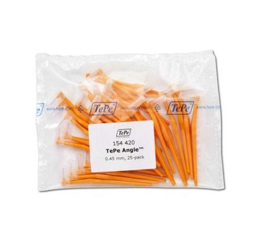 Tepe Angle Oranje 0,45mm 3 x 25 Stuks - Voordeelverpakking