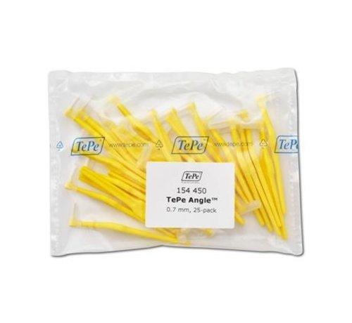 TePe Tepe Angle Geel 0,70mm 3 x 25 Stuks - Voordeelverpakking