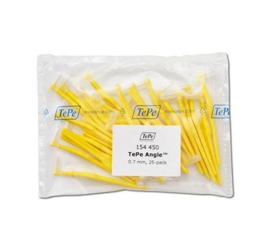 Tepe Angle Geel 0,70mm 3 x 25 Stuks - Voordeelverpakking