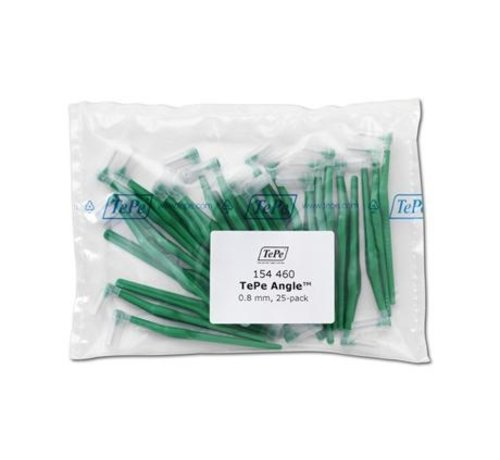 TePe Tepe Angle Groen 0,80mm 3 x 25 Stuks - Voordeelverpakking