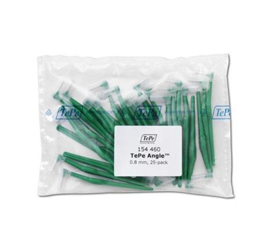 Tepe Angle Groen 0,80mm 3 x 25 Stuks - Voordeelverpakking