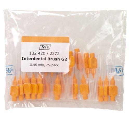 TePe Tepe Interdentale Rager Origineel 0.45 mm Oranje - 3 x 25 stuks - Voordeelverpakking