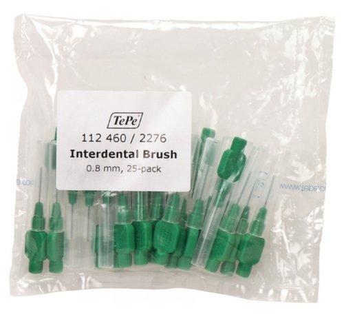 TePe Tepe Interdentale Rager Origineel 0.8 mm Groen - 3 x 25 stuks - Voordeelverpakking