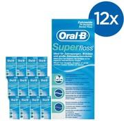 Oral-B Oral-B Superfloss- 12 Stuks - Voordeelverpakking